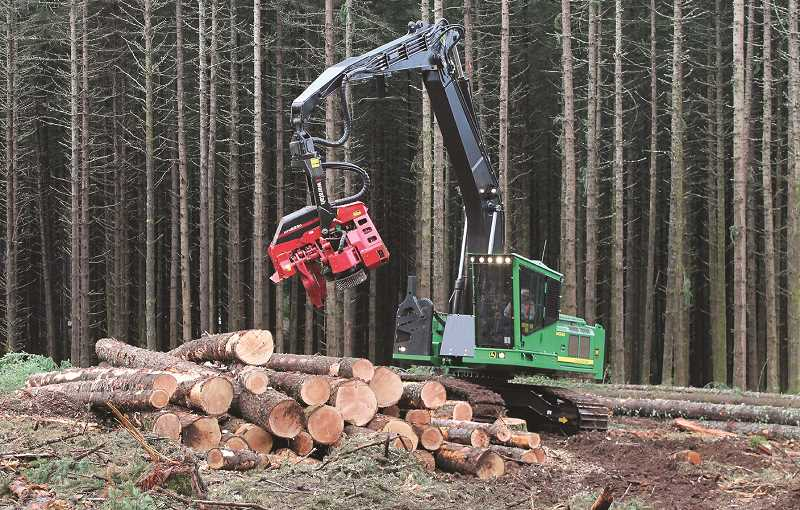 PMG FILE PHOTO - A deal between timber companies and conservation groups could mean increased logging in the forests of Oregon.