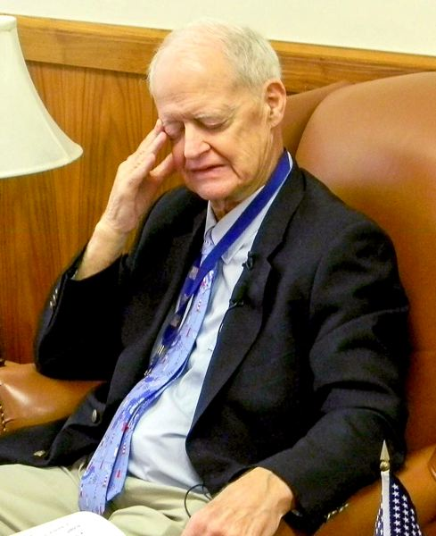 OREGON CAPITAL BUREAU PHOTO - Senate President Peter Courtney was dealing with a second GOP walkout during the short February session.