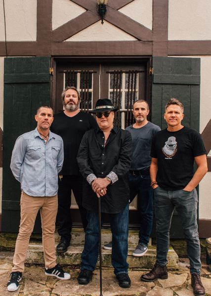 COURTESY PHOTO:  - Drummer Brendan Hill (second from right) and lead singer John Popper (middle) will play with Blues Traveler at Chinook Winds Casino Resort in Lincoln City March 6-7.