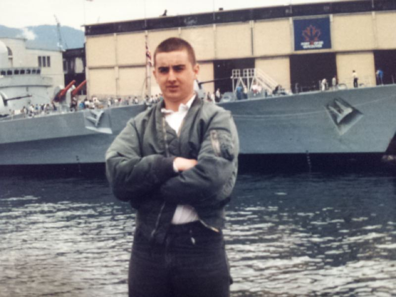 COURTESY PHOTO: TONY MCALEER - In the 1980s, Tony McAleer identified as a racist skinhead and was involved with the White Aryan Resistance.