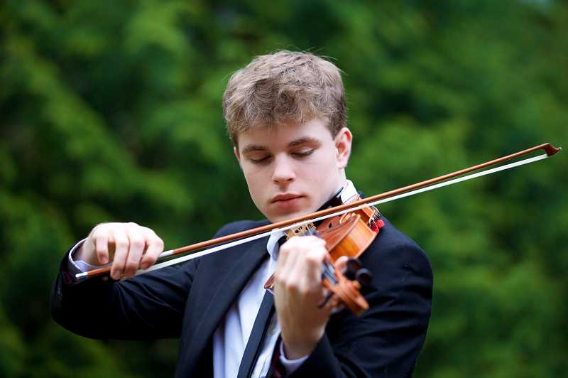 COURTESY PHOTO  - Nate Strothkamp will be the featured soloist in the Portland Youth Philharmonic concert March 7. Get tickets now.