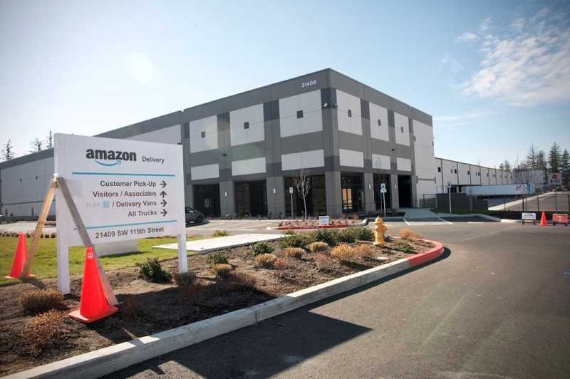 PMG PHOTO: JAIME VALDEZ - Majestic Realty Co. leased warehouse space to Amazon last year in a 229,146-square-foot building located south on 115th Avenue, just off of Tualatin-Sherwood Road.