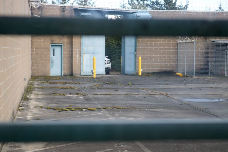 PMG PHOTO: ZANE SPARLING - The never-used Wapato Jail facility has sat empty for more than 15 years, and signs of disuse are becoming more apparent.