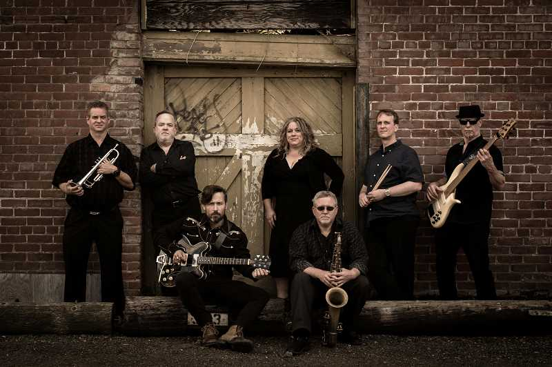 COURTESY PHOTO - The Rae Gordon Band features a powerhouse blues and soul singer, searing slide guitar, a tight pulsing rhythm section and soaring horns.
