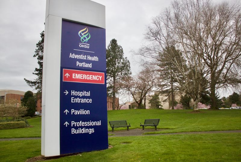 PMG PHOTO: CHRISTOPHER KEIZUR  - Adventist Health Portlandwill likely play an important role as medical experts work to treat and contain the spread of COVID-19 or Coronavirus in the Portland area, including East Multnomah County.