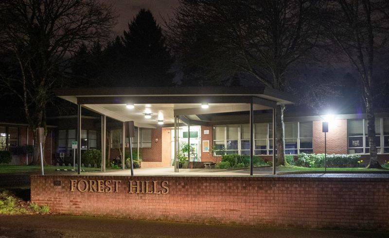 PMG PHOTO: JONATHAN HOUSE - Oregon's first case of coronavirus is an employee at Forest Hills Elementary School in Lake Oswego. They are being treated at a Hillsboro hospital.