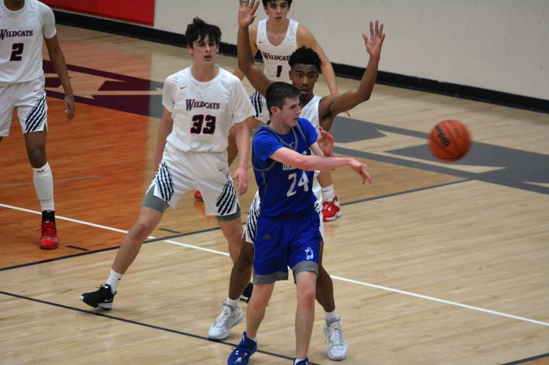 TIMES PHOTO: MATT SINGLEDECKER - Westview senior forward Wayne Jamison and the Wildcats will face No. 6 Barlow in the second round of the 6A playoffs.