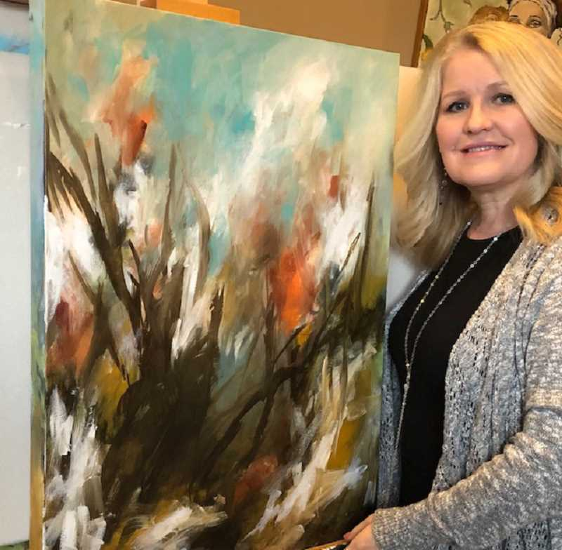 Stephanie Garber is one of the artists exhibiting her art at Creative Spirits Gallery within West Linn Lutheran Church. A reception will be held March 8 at 9:30 a.m. to meet the artists.
