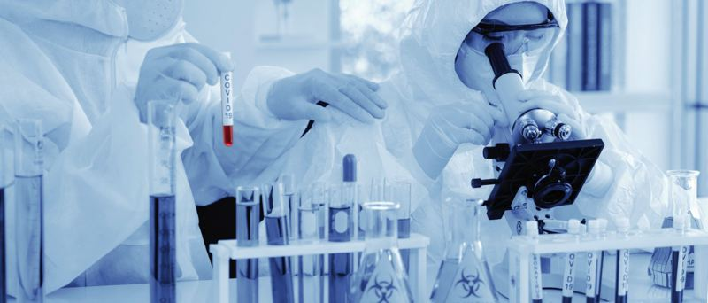 COURTESY PHOTO: DREAMSTIME - The technology to study and to test for viruses has improved greatly in recent years.