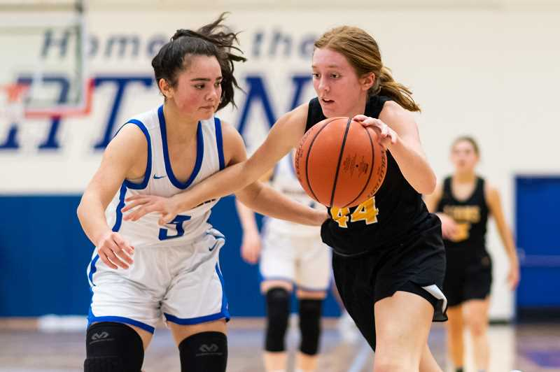 PMG FILE PHOTO - St. Helens senior Maddie Holm had a team-high 31 points against Hillsboro.