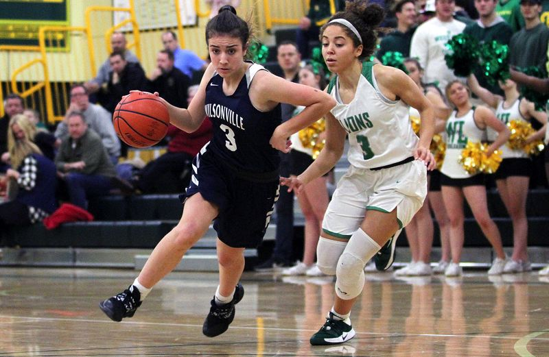 PMG PHOTO: MILES VANCE - Wilsonville sophomore Karina Borgen and the third-ranked Wildcats open the Class 5A state playoffs tonight when they host No. 14 Willamette at 6 p.m.
