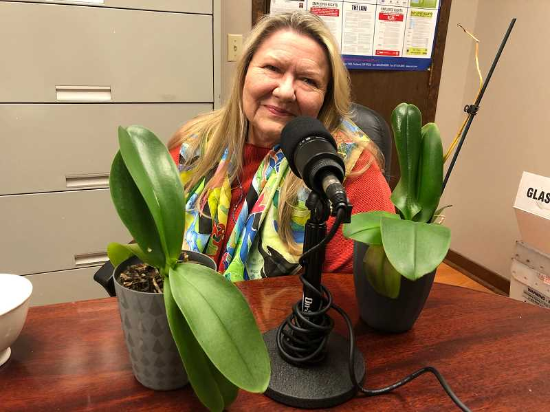 """GABBY URENDA - Edyta Salak won the Picture Hillsboro Purchase award for her piece titled """"FALL in love with Hillsboro."""" She appears on this week's A&E podcast."""