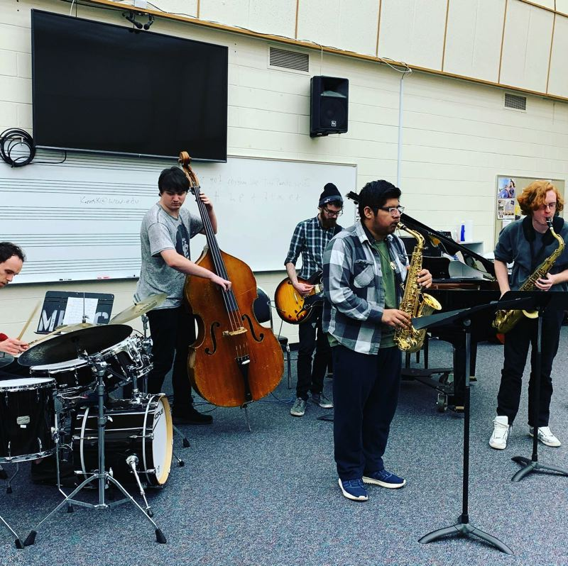 COURTESY PHOTO: MHCC MUSIC DEPARTMENT - Mt. Hood Community College has five jazz combos, all of which will perform in concerts on March 11 and 16.