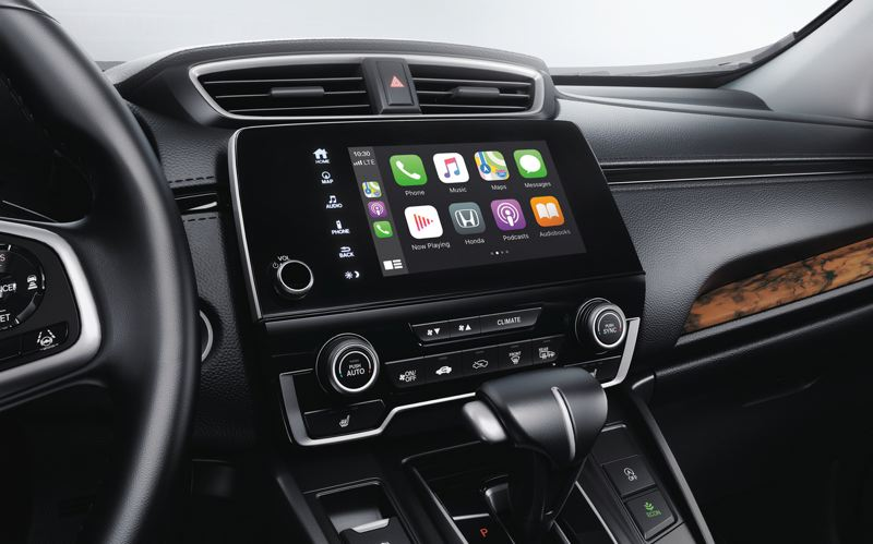 AMERICAN HONDA MOTOR CO. - The volume control knob makes a welcome return to the easy-to-use infortainment system.