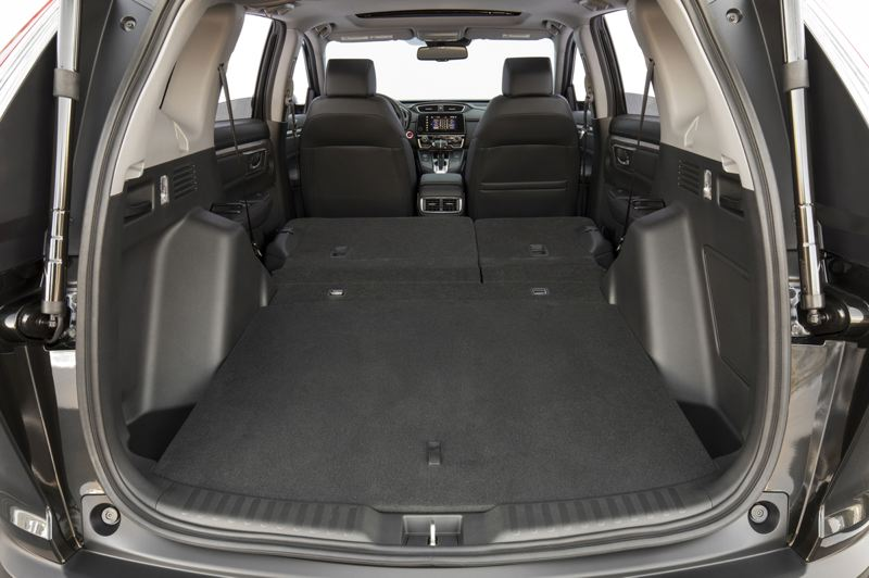 AMERICAN HONDA MOTOR CO. - One advantage of crossovers in cargo space, and the 2020 Honda CR-V offers a tremendous amount for a compact.