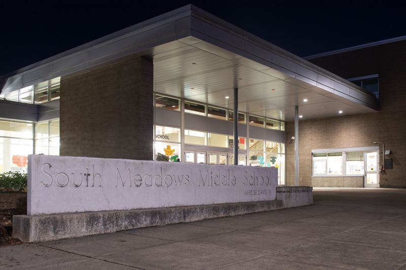 PMG PHOTO: CHRISTOPHER OERTELL - Following the advice of local and state public health authorities, South Meadows Middle School will remain open even after a student tested positive for COVID-19 over the weekend, Hillsboro School District officials said Sunday, March 8.