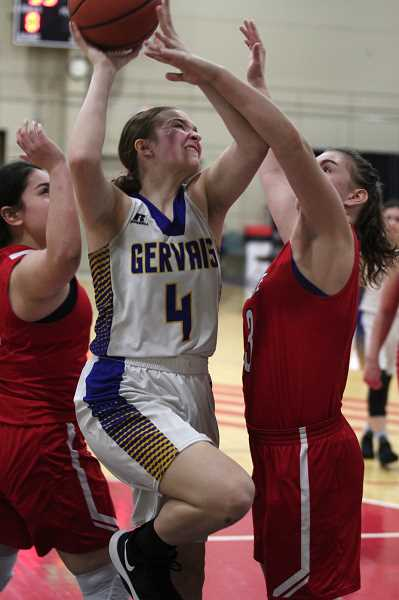 PMG PHOTO: PHIL HAWKINS - Gervais freshman Izzy Boyd is part of the incoming class of first and second year players eager to pick up the baton for the next era of Cougar basketball.