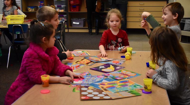 PMG PHOTO: EMILY LINDSTRAND - The Estacada School District's proposed $22.9 million general obligation bond will help fund the creation of additional classroom space for elementary school students, since the district has seen student population growth at that level.