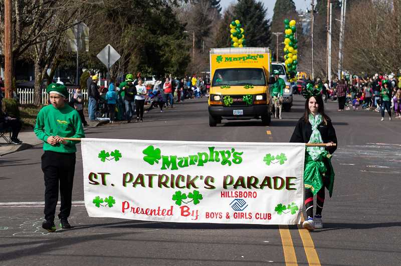 PMG FILE PHOTO - Hillsboro's St. Patricks Day Parade was the longest-running in the state.