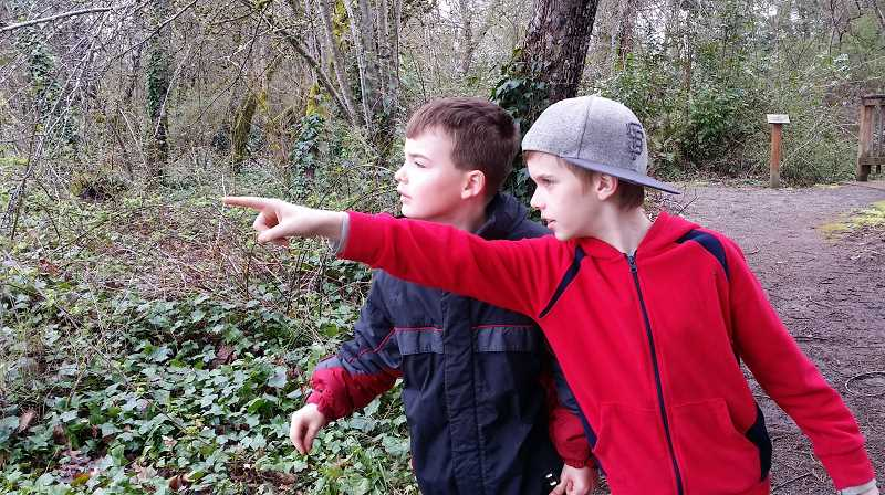 COURTESY PHOTO - Children can learn about nature at CCCs Environmental Learning Center spring break camps.
