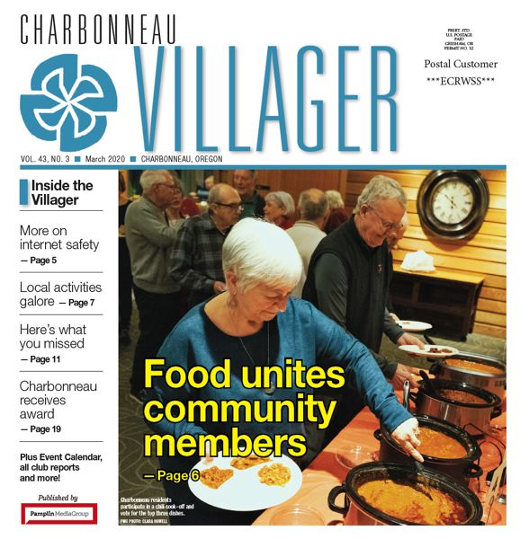 (Image is Clickable Link) Charbonneau Villager March 2020