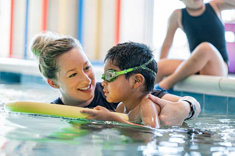 COURTESY PHOTO - Emler Swim School has two new locations under construction in Beaverton and Tualatin. The school offers swim lessons for all ages, including adults.