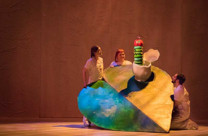COURTESY PHOTO - Oregon Childrens Theatre will present The Very Hungry Caterpillar Show March 28 through May 17 at the Winningstad Theatre, 1111 SW Broadway in Portland.