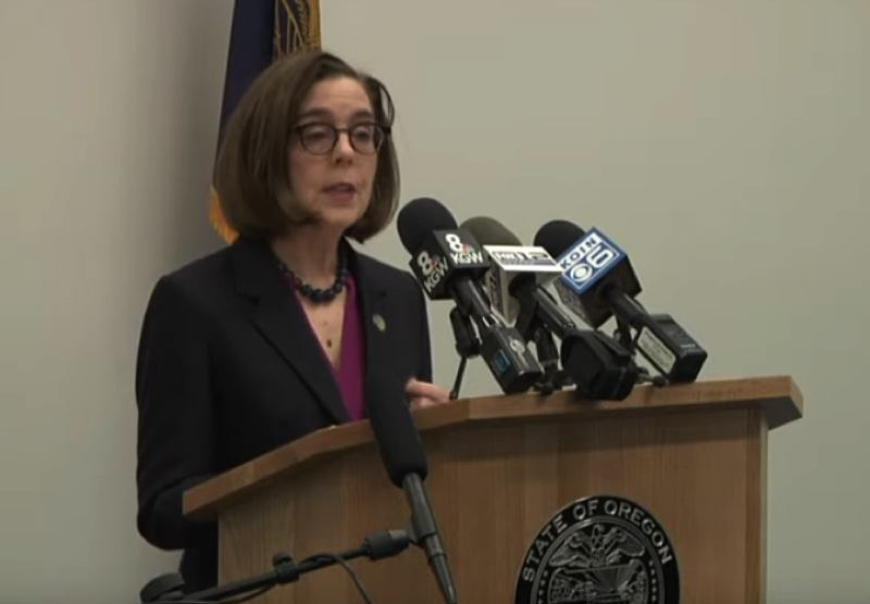PMG FILE PHOTO - Gov. Kate Brown is expected to announce new measures to fight the COVID-19 outbreak.