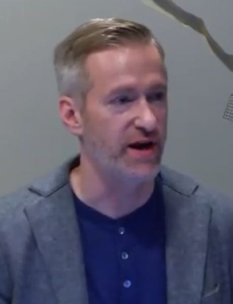 Mayor Ted Wheeler explaining the local response to the COVID-19 outbreak on Wednesday morning,