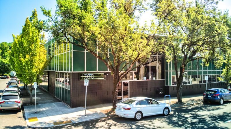 COURTESY: NORRIS & STEVENS - This building, which is the home of Cinco Design, was recently sold for $5.3 million.
