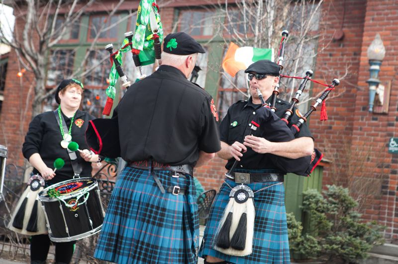 COURTESY PHOTO: MCMENAMINS EDGEFIELD - Roaming bagpipers are among the traditional festivities and attractions to grace the grounds of McMenamins Edgefield resort for its St. Patrick's Day Across the Land celebrations Saturday, March 14, and Tuesday, March 17, which is Patrick's Day itself.
