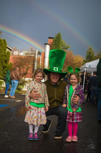 COURTESY PHOTO: MCMENAMINS EDGEFIELD - Leprechans of all ages will be found under soaring rainbows at McMenamins Edgefield's St. Patrick's Day festivities this weekend and on the Irish holiday of Tuesday, March 17.