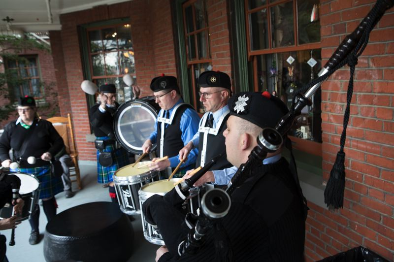 COURTESY PHOTO: MCMENAMINS EDGEFIELD - Traditional Irish and Scottish music will emanate from the McMenamins Edgefield hotel's front porch and throughout the sprawling resort for its annual St. Patrick's Day Across the Land festivities March 14 and 17.