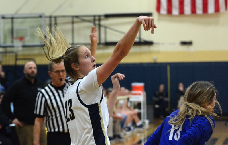 PMG PHOTO: DEREK WILEY - Canby senior Nicole Mickelson was voted Three Rivers League First Team all-league.