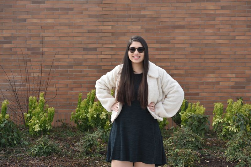 PMG PHOTO: TERESA CARSON - Christina Saada, a senior at Reynolds High School, immigrated from Syria in 2016.