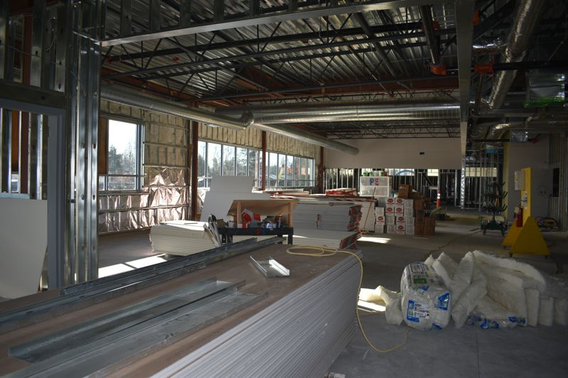 PMG PHOTO: TERESA CARSON - The library, or media center, will serve the Gophers next fall.