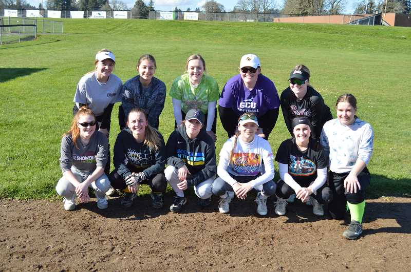 PMG PHOTO: DARRYL SWAN - The St. Helens girls softball team.