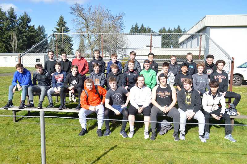 PMG PHOTO: DARRYL SWAN - Scappoose boys track and field
