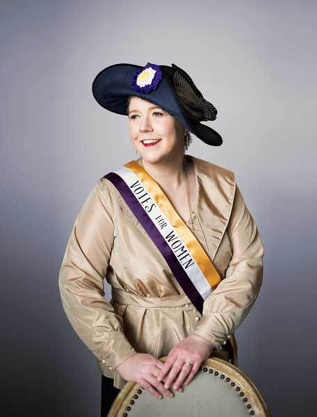 COURTESY PHOTO: ERICA J. MITCHELL - On March 25, the McMenamins Grand Lodge Theatre in Forest Grove will host an event in honor of Womens History Month. Cece Otto will perform a womens suffrage concert.