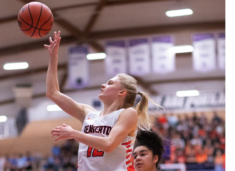 TIMES PHOTO: CHRIS OERTELL - Beaverton senior Mary Kay Naro came into her own as a floor general for the Beavers this season.
