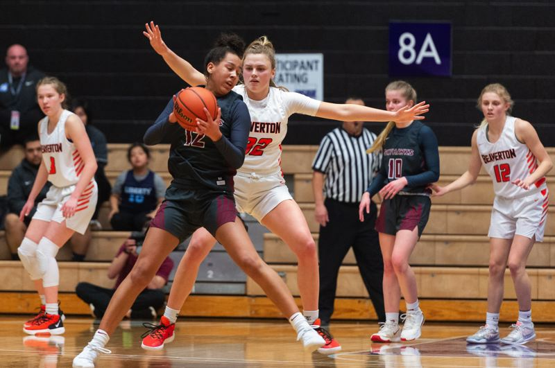 TIMES PHOTO: CHRIS OERTELL - Beaverton senior Sydney Erikstrup could and would do everything for the Beavers on a nightly basis.