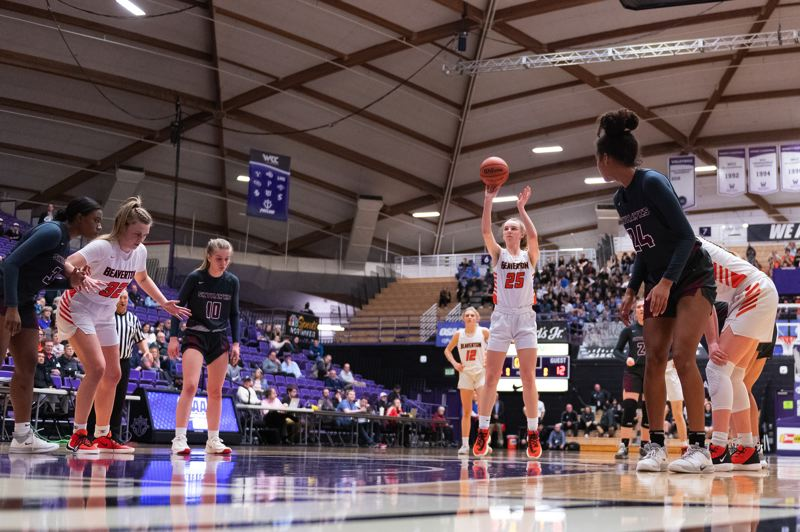 TIMES PHOTO: CHRIS OERTELL - Beaverton freshman Lainey Spear was a key reserve off the bench for the Beavers this season.
