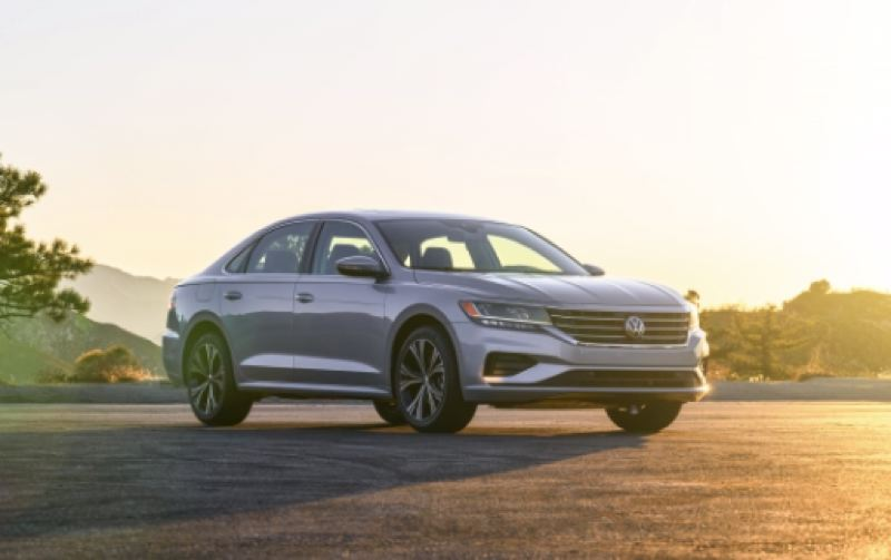 COURTESY VOLKSWAGE - The 2020 VW Passat is a handsome, well-balanced German road car that offers a lot of value for the money.