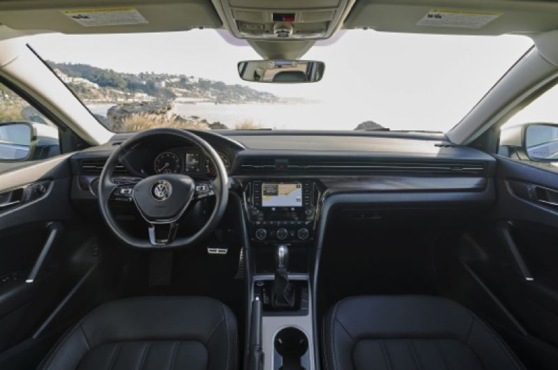 COURTESY VOLKSWAGEN - The interior desgin of the 2020 VW Passat is refreshingly undertated, with clean lines and easy to find and understand controls.