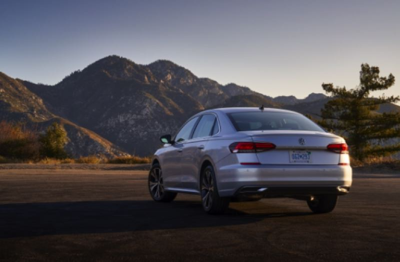 COURTESY VOLKSWAGEN - Redesigned front and rear ends are among the changes to the 2020 VW Passat.