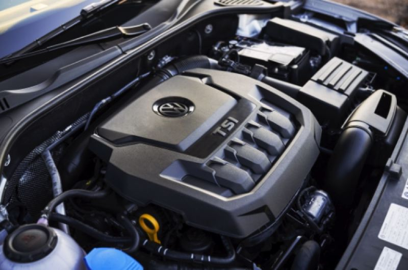 COURTESY VOLKSWAGEN - The standard turbocharged 2.0-liter engine produces a respectable 176 horsepower and 206 foot-pounds of torque, more than enough for everyday driving.