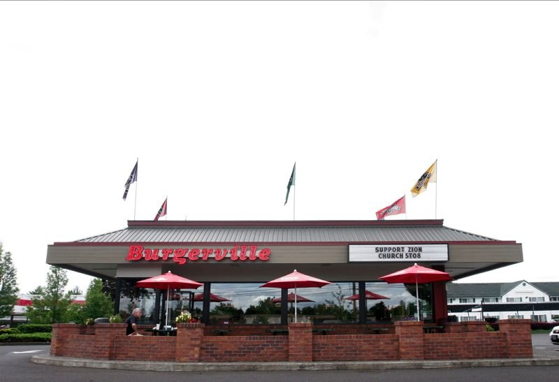 PMG FILE PHOTO - All Burgerville locations will remain open except for the Tigard restaurant, which does not have a drive -thru.