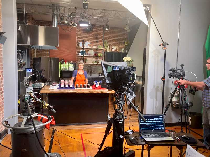 Willamette Falls Media Center hosted production of a series of video workshops demonstrating food preservation recipes and sharing Oregon Farm Direct Marketing Law guidelines.