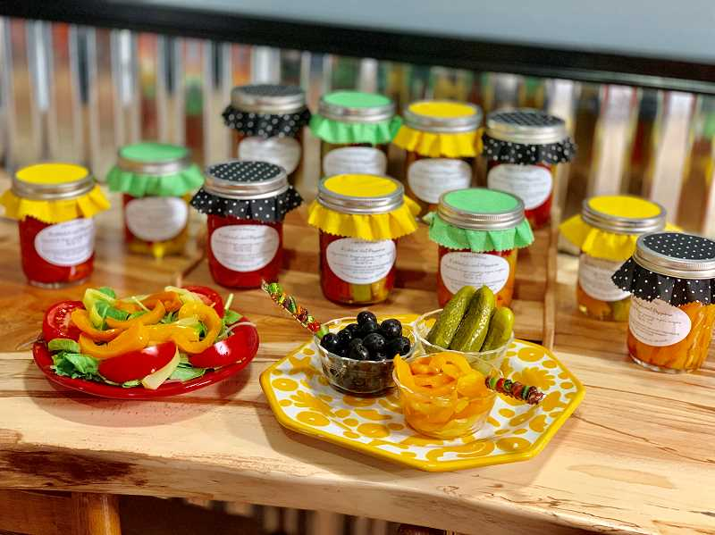 COURTESY PHOTOS - Preserved peppers are a great gift option and allow small farmers to share their harvest all year.