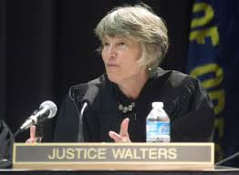 COURTESY PHOTO: EO MEDIA GROUP - Oregon Supreme Court Justice Martha Walters on Monday announced several measures to reduce the number of people having to use the state's courts and jails.